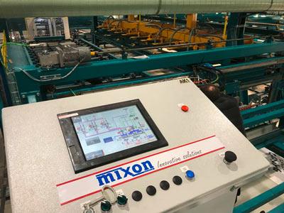 Anlagensteuerung mit Touch Panel
